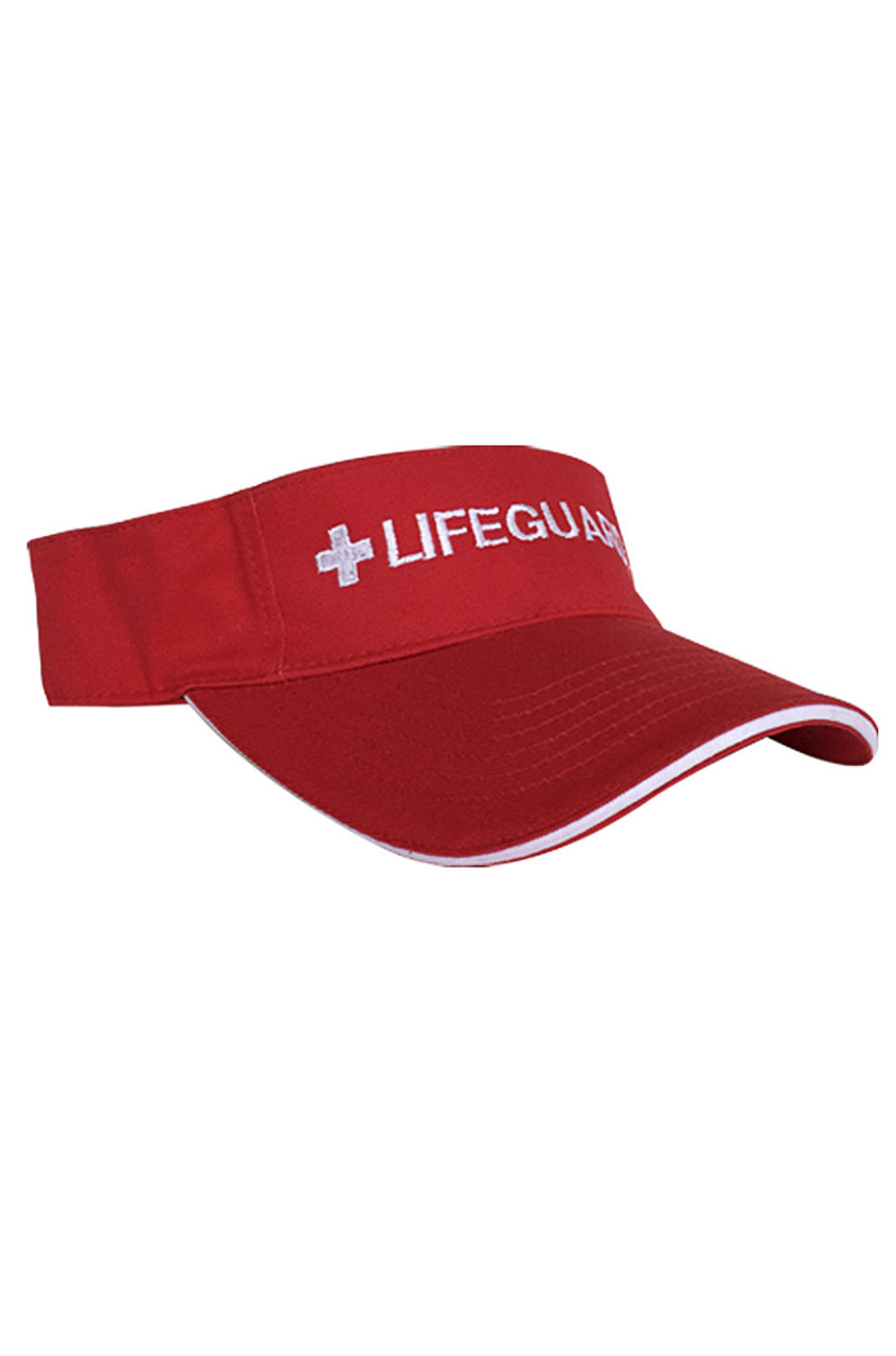 Adjustable Sun Visor - Beach Lifeguard b30b4b31638
