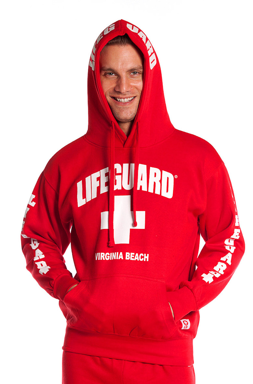 0471f70c362 Guys Iconic Hoodie - Beach Lifeguard