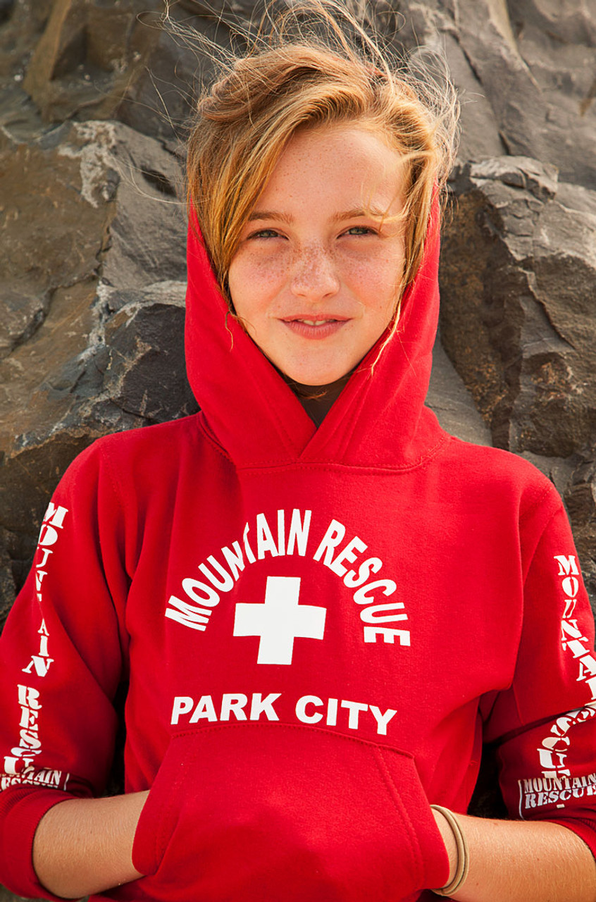 3927c027edb Youth Mountain Rescue Hoodie - Beach Lifeguard