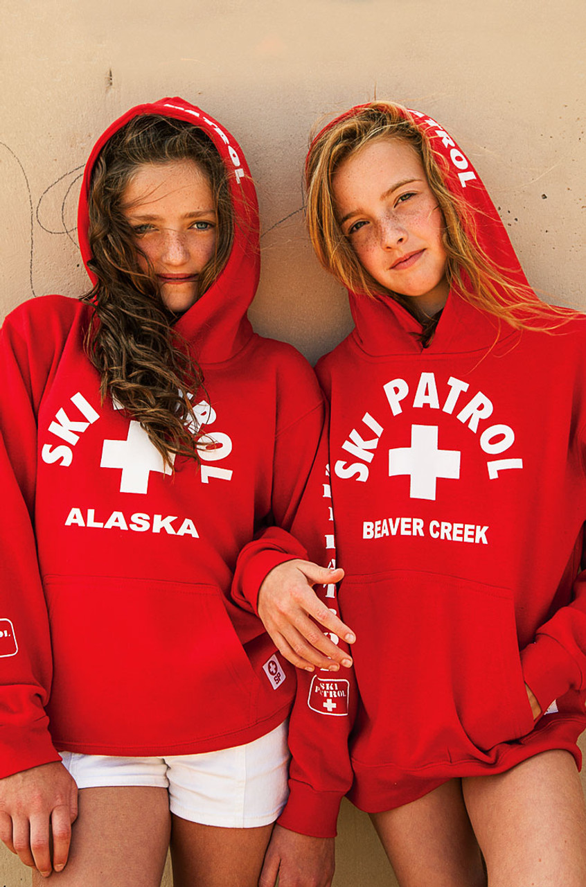 d158912904f Youth Ski Patrol Hoodie - Beach Lifeguard