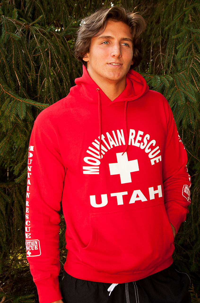 cbdadf6aa86 Guys Mountain Rescue Hoodie - Beach Lifeguard