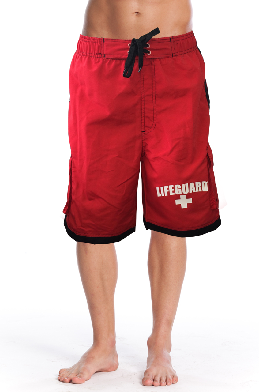 924d604655 Front Men's Active Swim Shorts | Beach Lifeguard Apparel Online Store