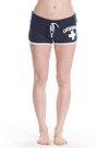 Black Ladies Hi-Cut Shorts | Beach Lifeguard Apparel Online Store