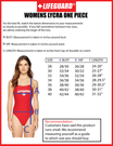 One-Piece Lycra Swimsuit