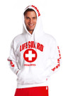 White Guys Iconic Hoodie | Beach Lifeguard Apparel Online Store