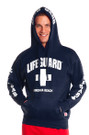 Navy Blue Guys Iconic Hoodie | Beach Lifeguard Apparel Online Store