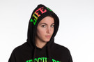 Ladies Iconic Neon Blend Hoodie | Beach Lifeguard Apparel Online Store