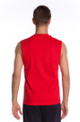 Back Red The Muscle Shirt | Beach Lifeguard Apparel Online Store