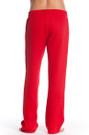 Back Red Fleece Sweatpants | Beach Lifeguard Apparel Online Store