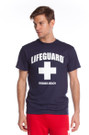 Black The Traditional T-Shirt | Beach Lifeguard Apparel Online Store