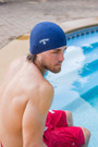 Unisex Lycra Stretch Swim Cap