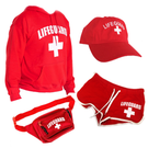 Women's Lifeguard Halloween Costume bundle