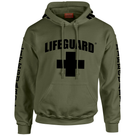 Lifeguard Unisex Pullover Hunter Green hoodie
