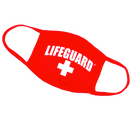 12-Pack LIFEGUARD® Red Cotton Face Mask