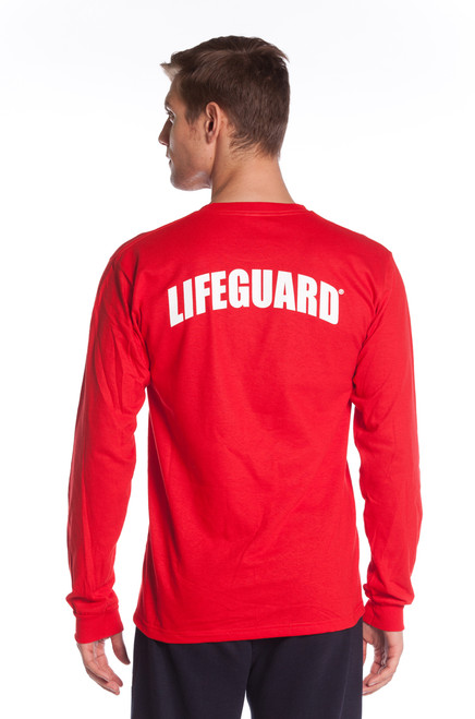 9e40942b46a Lifeguard Long Sleeve printed T-Shirt
