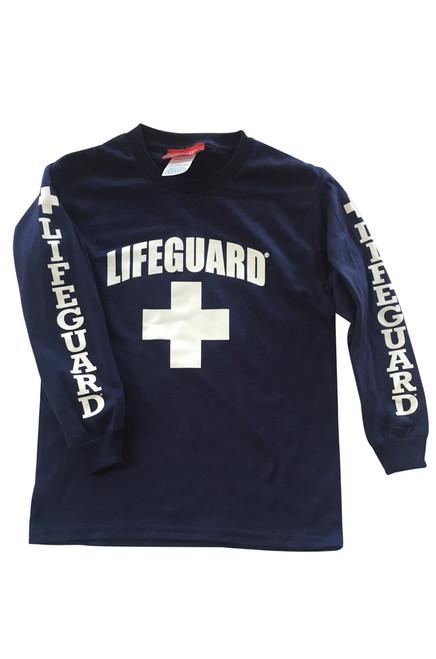 518c6c7ba13 Youth Long Sleeve Tee - Beach Lifeguard