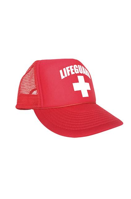 Adjustable Trucker Hat | Beach Lifeguard Apparel Online Store
