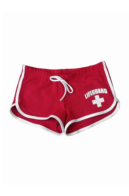 Girls Hi-Cut Shorts | Beach Lifeguard Apparel Online Store