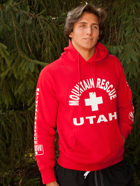 Guys Mountain Rescue Hoodie | Beach Lifeguard Apparel Online Store