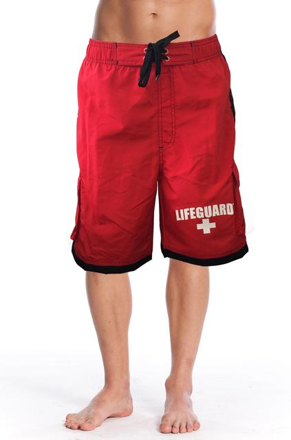 Front Men's Active Swim Shorts | Beach Lifeguard Apparel Online Store
