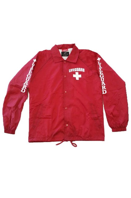 Red Front | Lifeguard Jacket | Beach Lifeguard Apparel Online Store