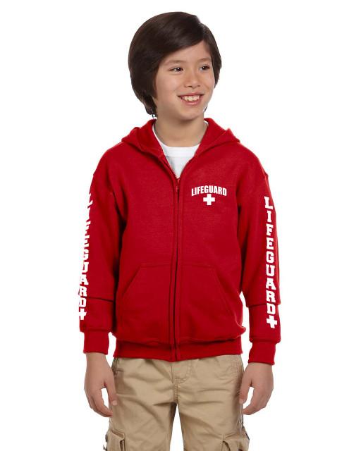 Youth Zip Up Hooded Sweatshirt