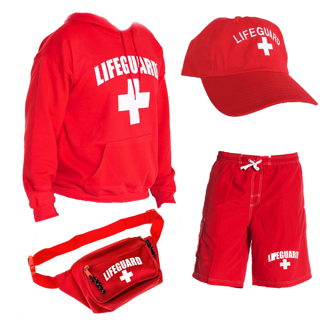 Official Lifeguard Halloween Men's bundle