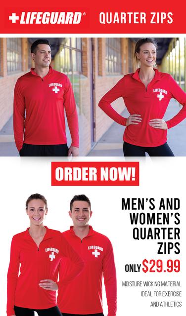Women's Lifeguard Quarter Zip Active Shirt