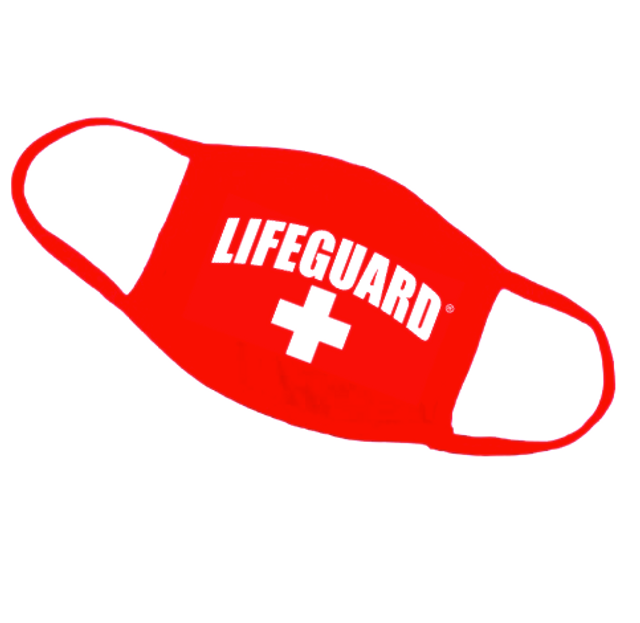 LIFEGUARD® Red Cotton Face Mask