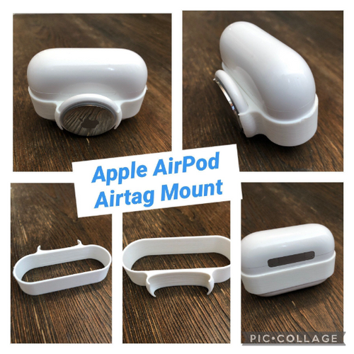 AirTag Apple Mount for Airpods Pro Or Regular