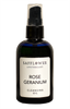 Rose Geranium Cleansing  & Facial Massage Oil Safflower Apothecary