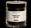 Charcoal Safflower Pulp Detox Facial Scrub Safflower Apothecary