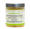 Lemongrass All Natural Beeswax Candle - Natures Apothecary