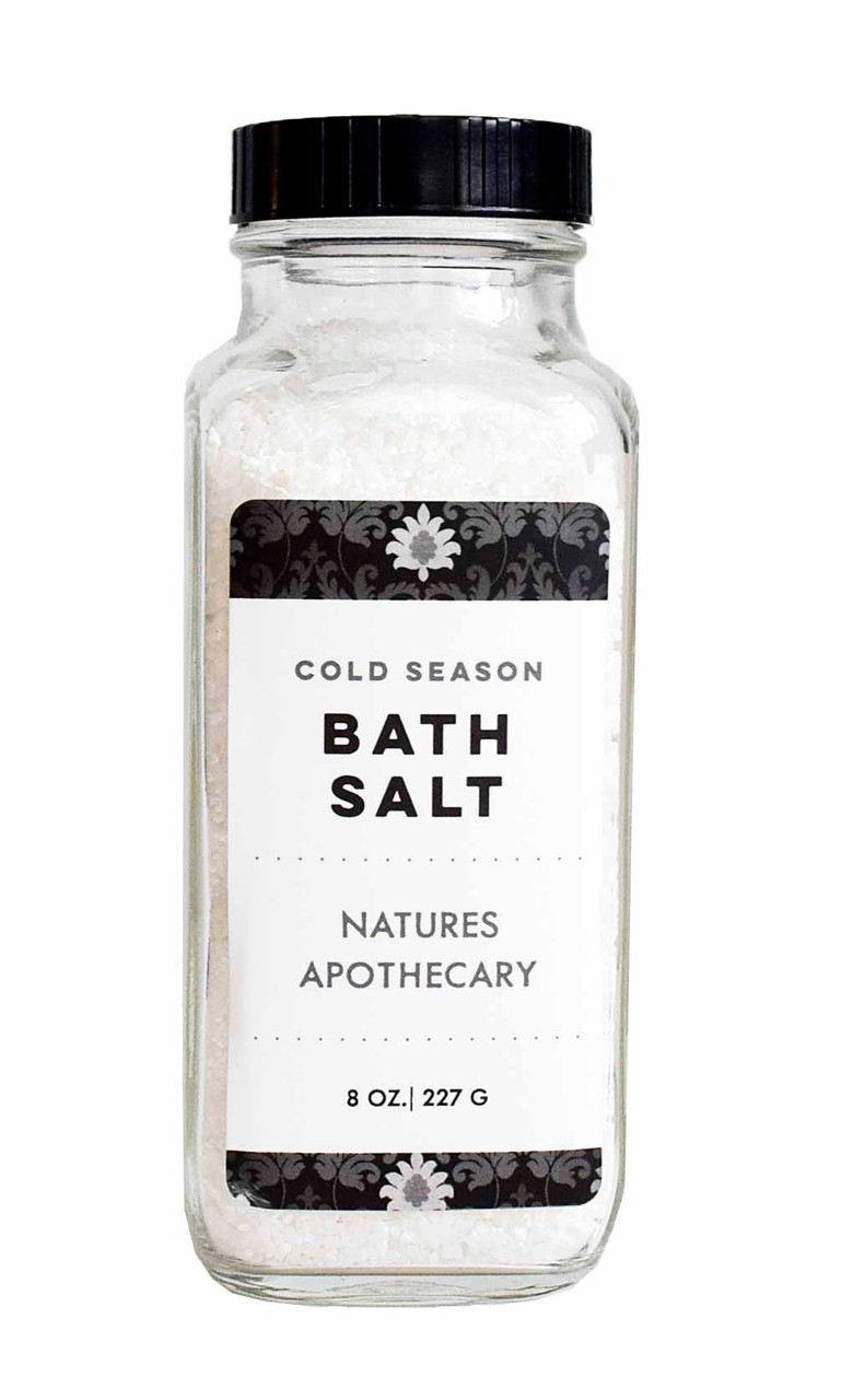 Aromatherapy Bath Salt Blend Made Especially For Cold & Flu Season