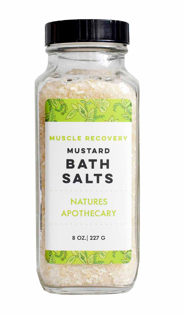 Hot Mustard Bath Salts