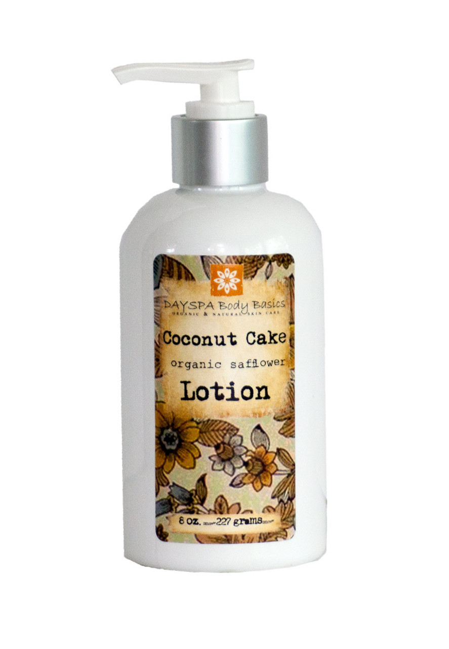 Coconut Cake Luxury Lotion = Silky, Nourished, & Hydrated Skin