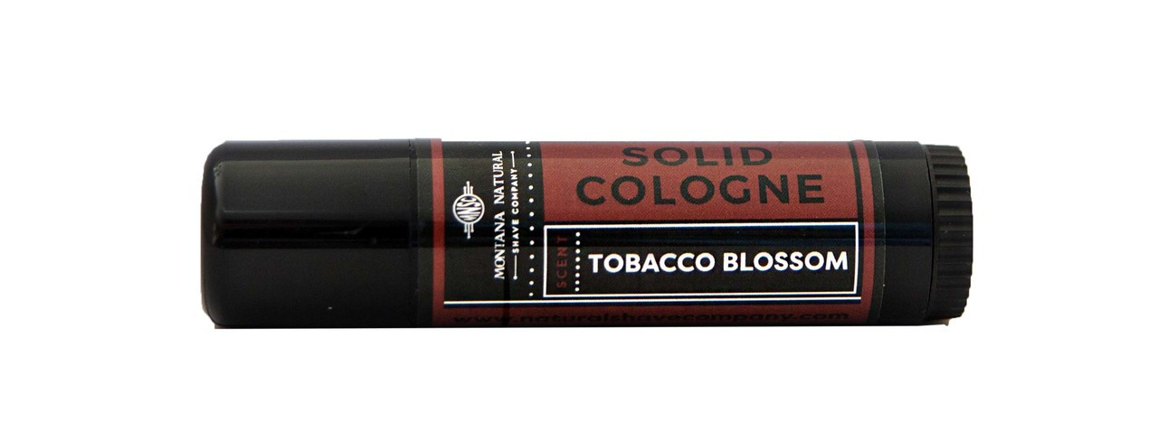 Tobacco Blossom Solid Cologne Travel and Gym Friendly - Montana Natural Shave Company