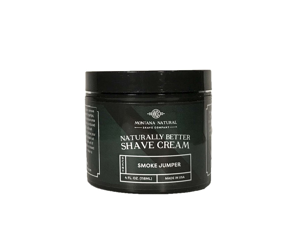 Montana Natural Shave Company   Smoke Jumper (Pine Tar) Shave Cream for a Naturally Better Shave Experience!
