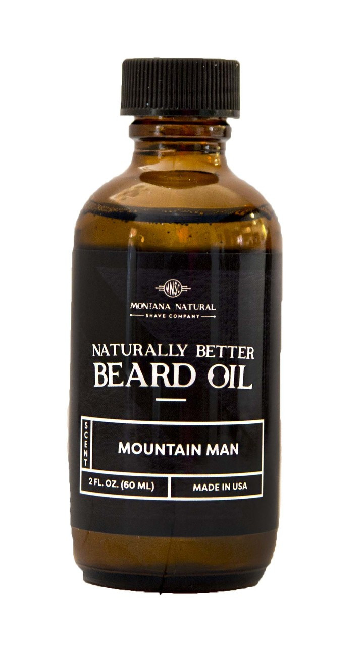 Mountain Man Beard Oil & Leave in Moisturizer - Montana Natural Shave Company
