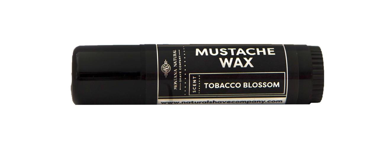 Artisan Made Tobacco Blossom Mustache Wax  Montana Natural Shave Company