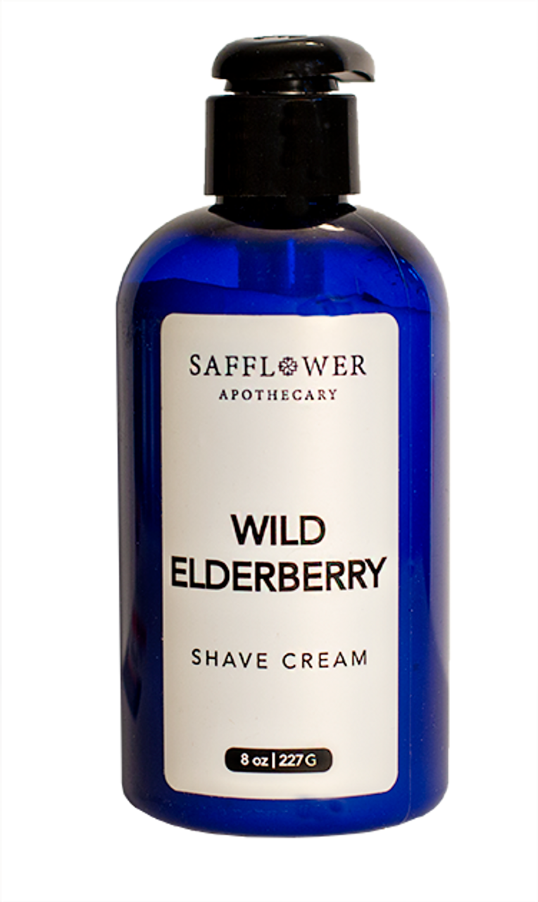 Wild Elderberry Pump Shave Cream