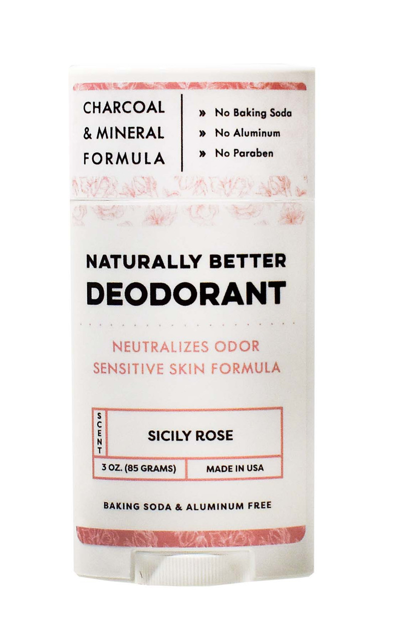 Sicily Rose Naturally Better Deodorant - DAYSPA Body Basics