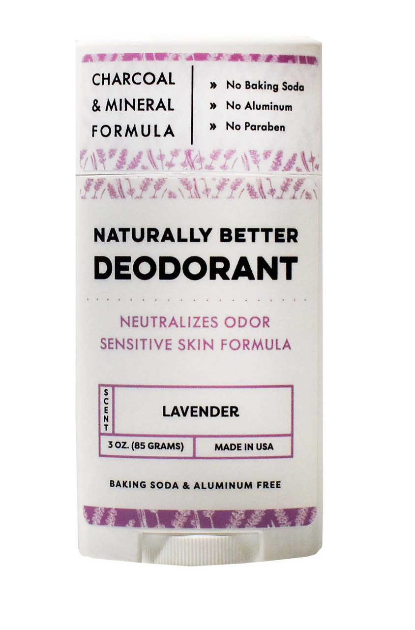 Lavender Essential Oil Naturally Better Deodorant - DAYSPA Body Basics