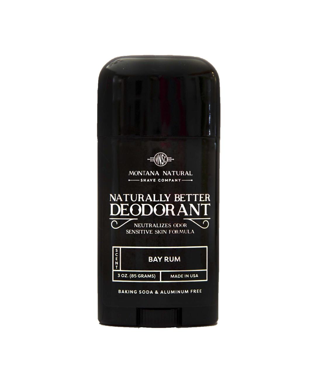 All Bay Rum Stick | Sensitive Skin Formula | Baking Soda Free | Aluminum Free