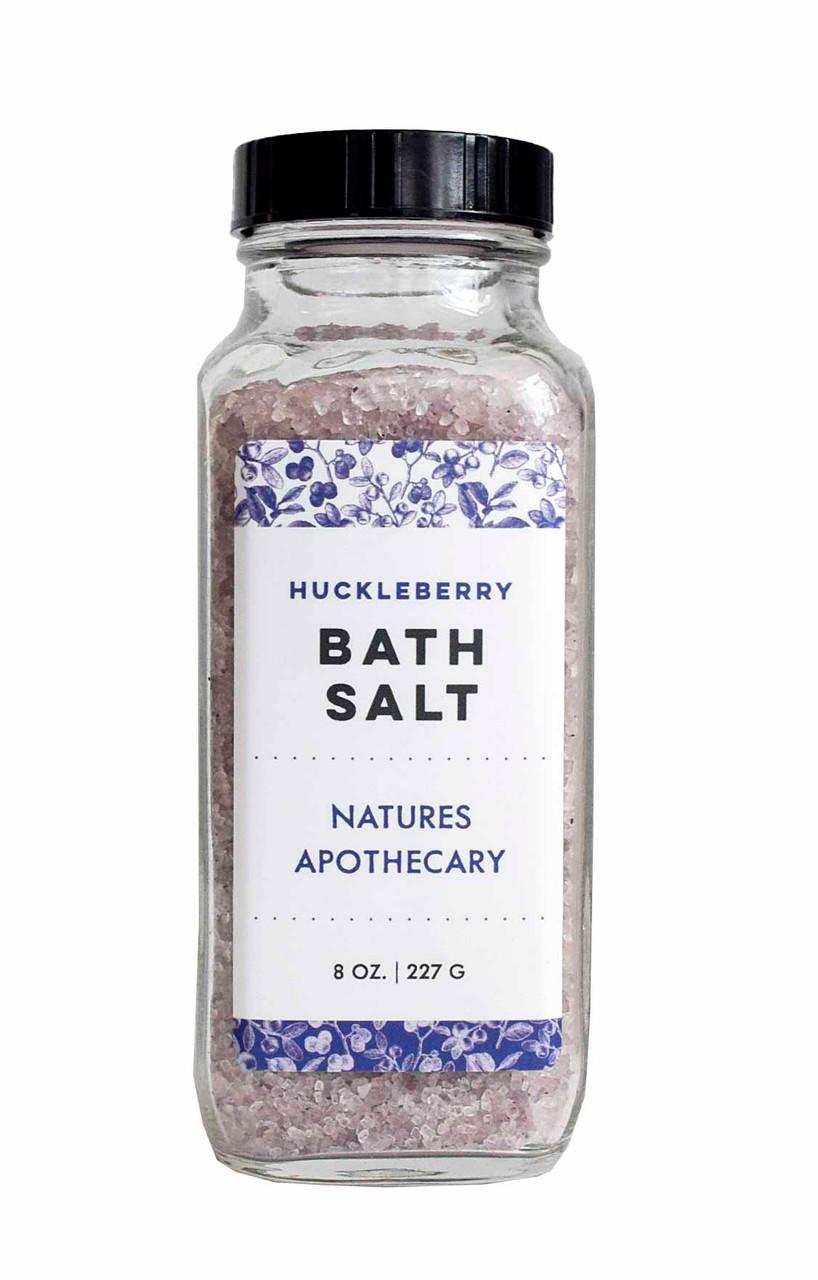 Huckleberry Bath Salts – Refresh Your Mind & Body  DAYSPA BODY BASICS