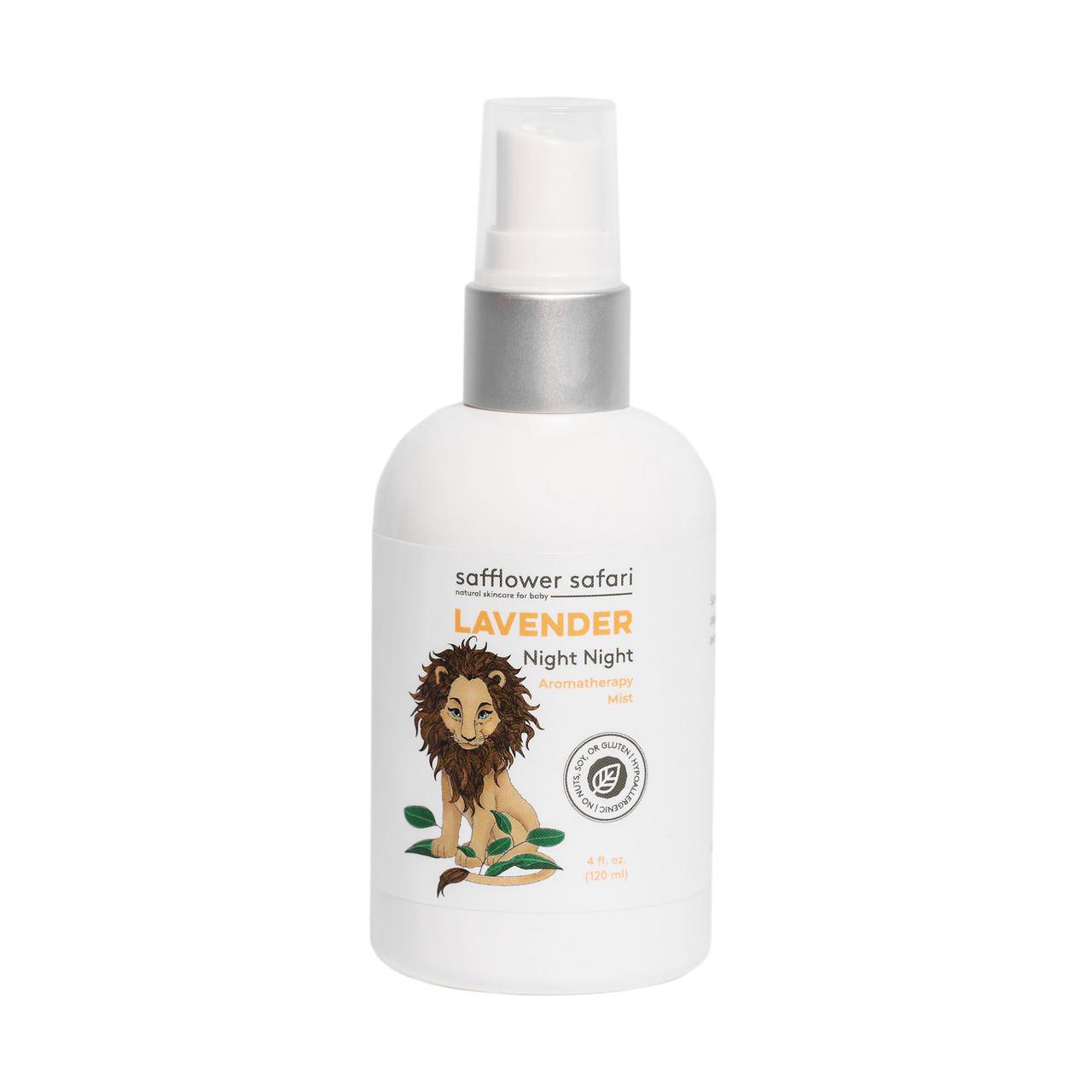 Lavender Aromatherapy Night Night Herbal Mist - Safflower Saffari