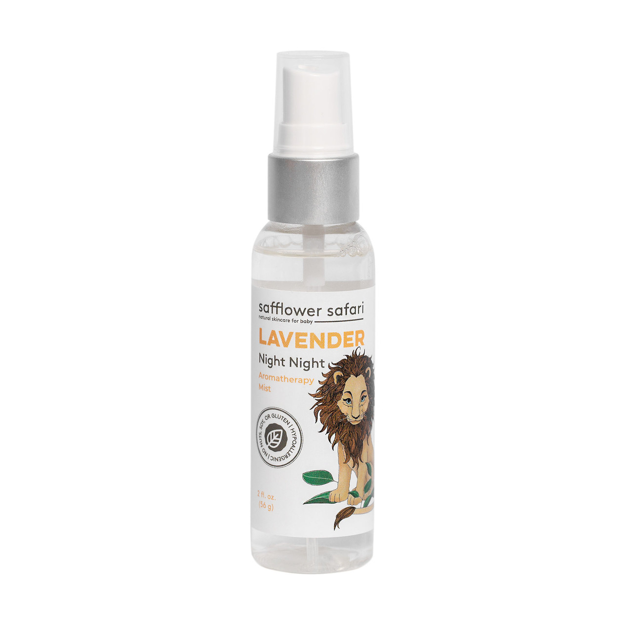Lavender Aromatherapy Night Night Herbal Mist - Safflower Saffari