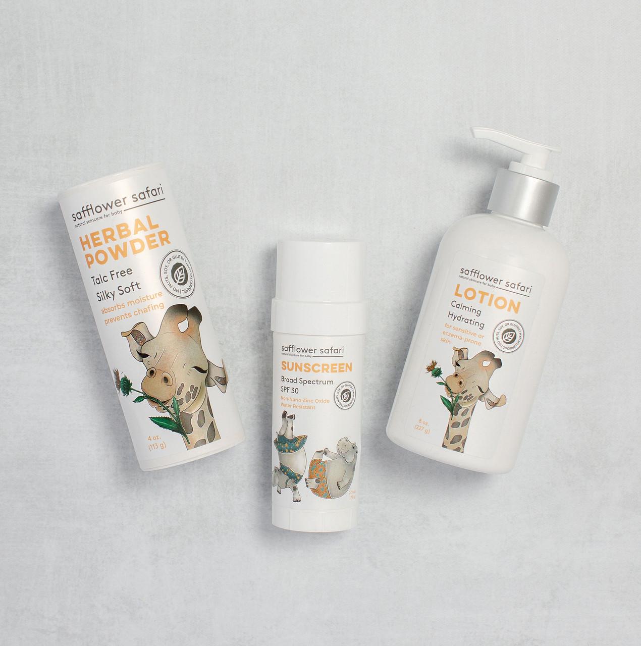 Baby Lotion - Silky Hydrated Skin & Aromatherapy Massage