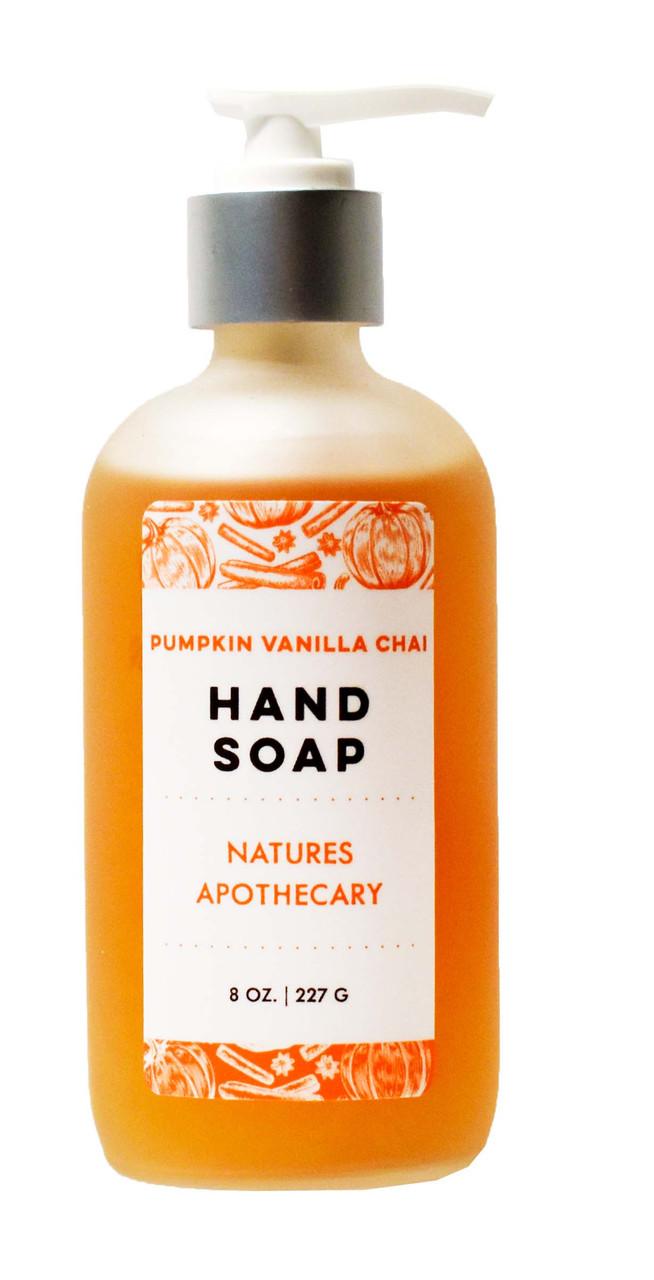Pumpkin Vanilla Chai Liquid Soap - DAYSPA Body Basics
