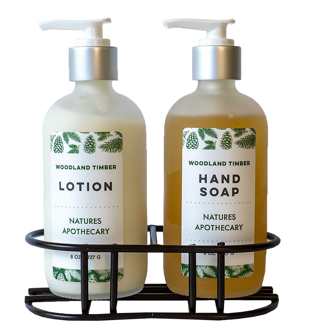 Woodland Timber All Natural Liquid Soap - DAYSPA Body Basics
